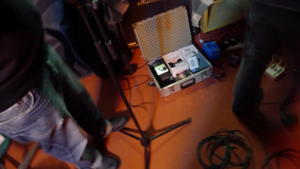 From Freak's rehearsal studio